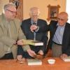 Krst knihy 100 rokov nitrianskej atletiky - autor Edita Hanzeliková