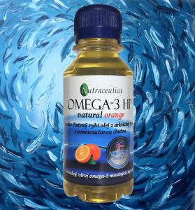 Fľaša prírodného rybieho oleja Nutraceutica