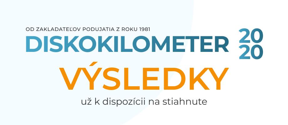 Diskokilometer 2020 - 40. ročník