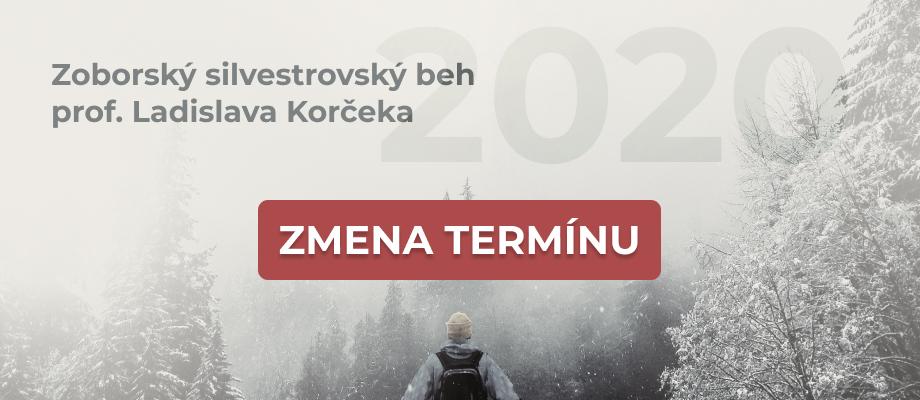 Pripravujeme Zoborský silvestrovský beh 2020